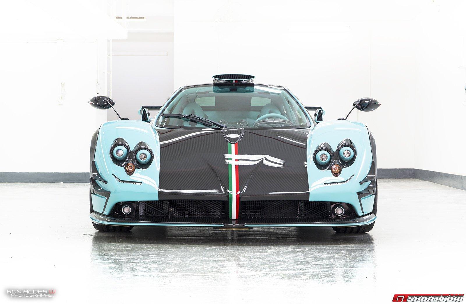 New Pagani Zonda 760 Lm Has Le Mans Headlights Autoevolution