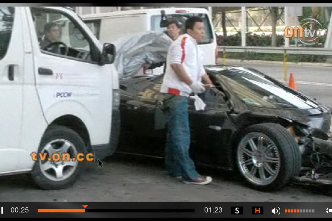 Pagani Zonda F Crashes In Hong Kong Autoevolution