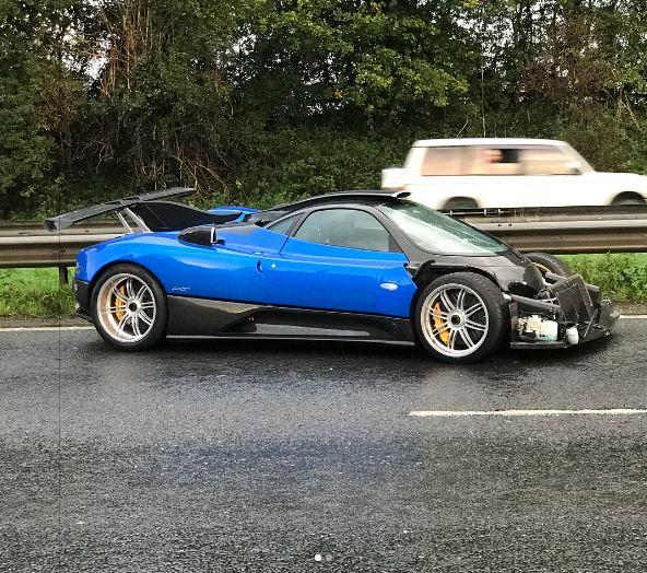 Pagani Zonda PS 760 Loses Its Nose In Brutal UK Crash