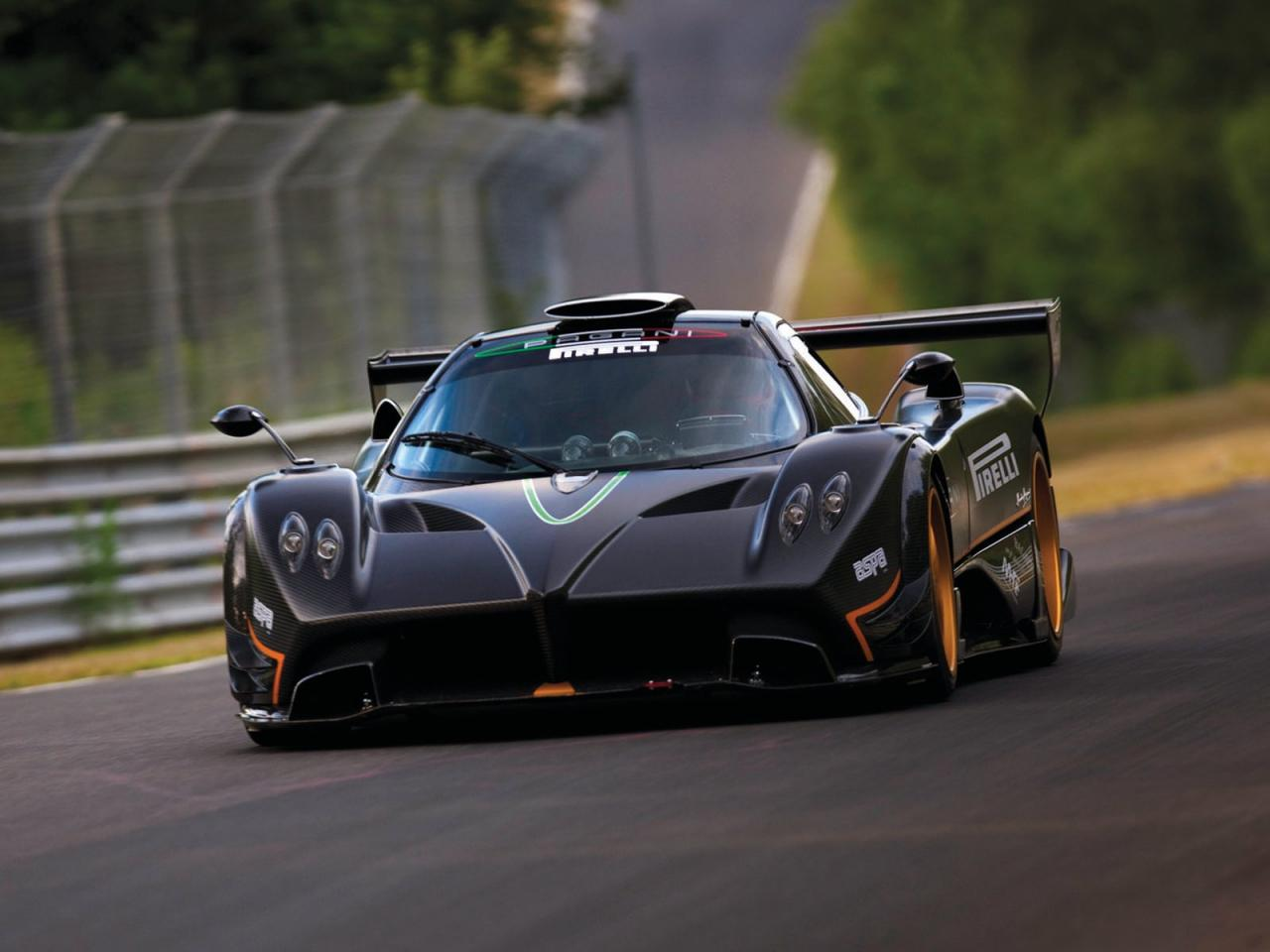 pagani zonda r nurburgring record run video and pictures autoevolution. Black Bedroom Furniture Sets. Home Design Ideas