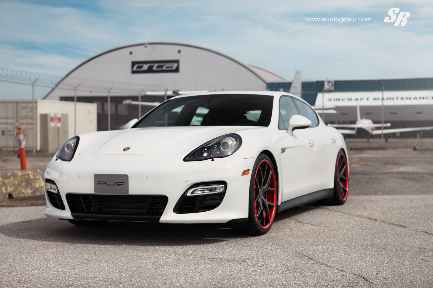 panamera gts sits on 22 inch crimson pur wheels. Black Bedroom Furniture Sets. Home Design Ideas