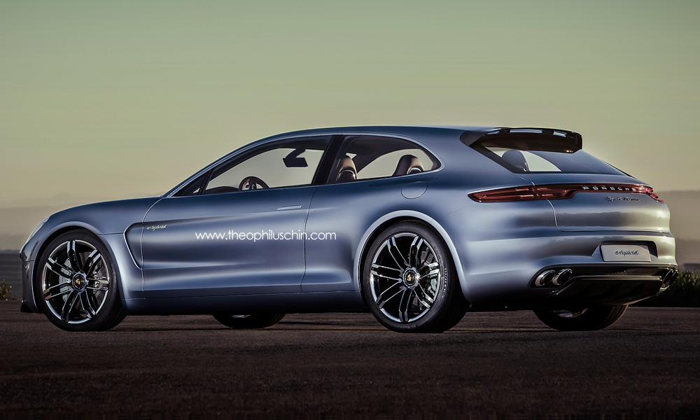 Panamera Sport Brake Coupe Rendered Autoevolution