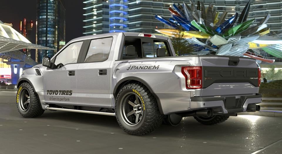 Nissan Juke Tire Size >> Pandem Widebody Ford F-150 Raptor Looks Menacing in Tokyo - autoevolution