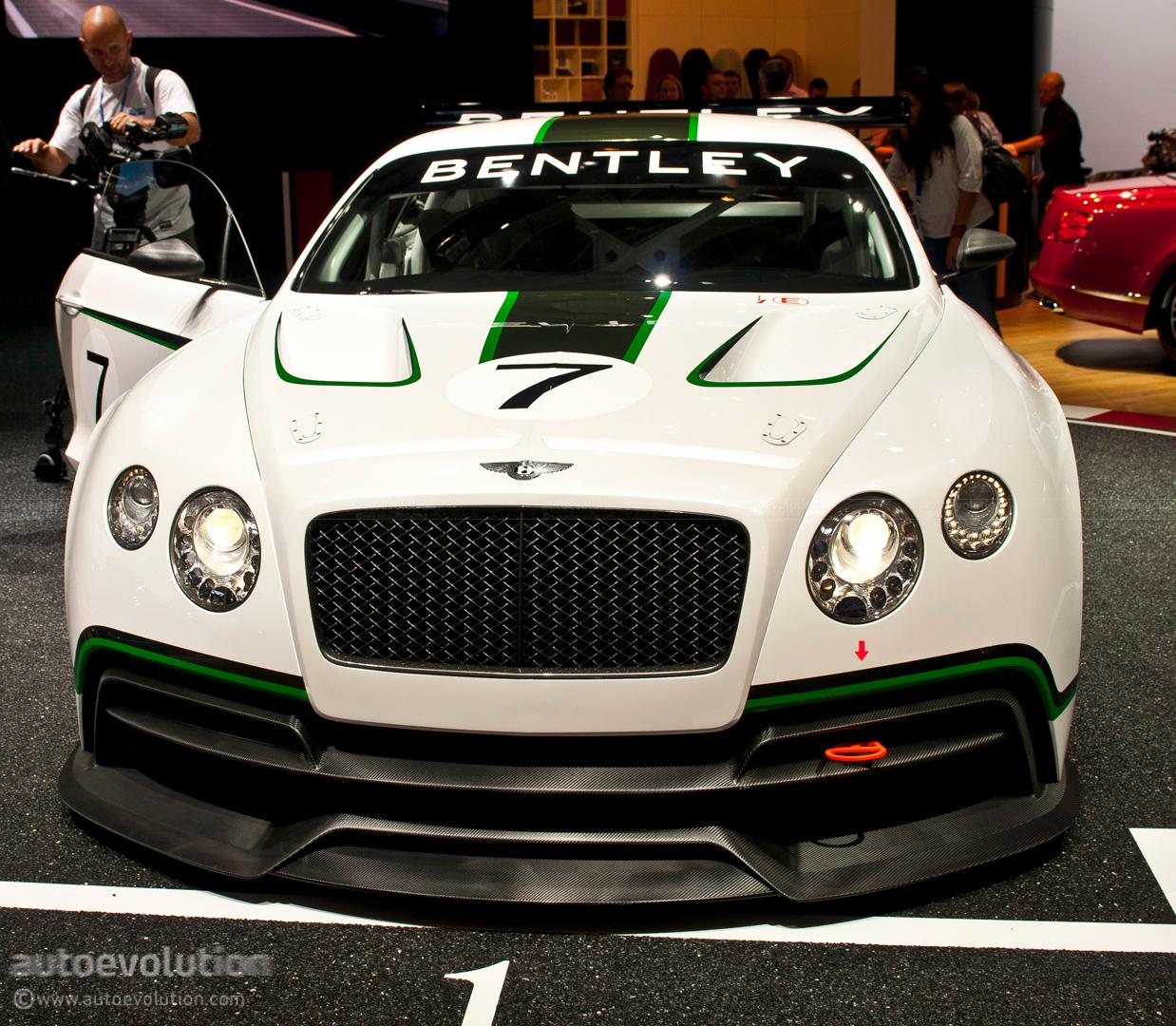 2012 Bentley Continental Camshaft: Paris 2012: Bentley Continental GT3 Racer [Live Photos