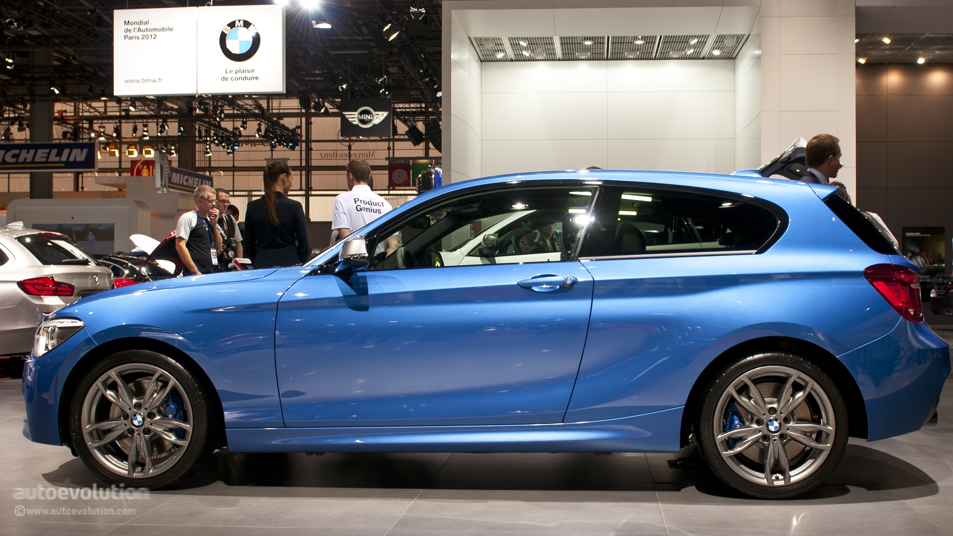 All Wheel Drive Sedans >> Paris 2012: BMW M135i xDrive [Live Photos] - autoevolution