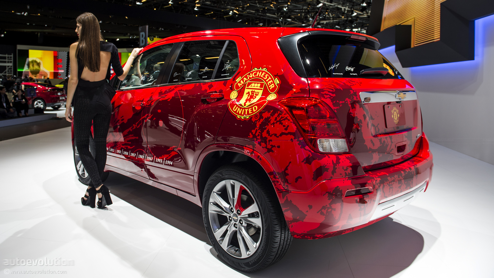 Manchester United Chevrolet Wallpaper Chevrolet Trax Photo Gallery