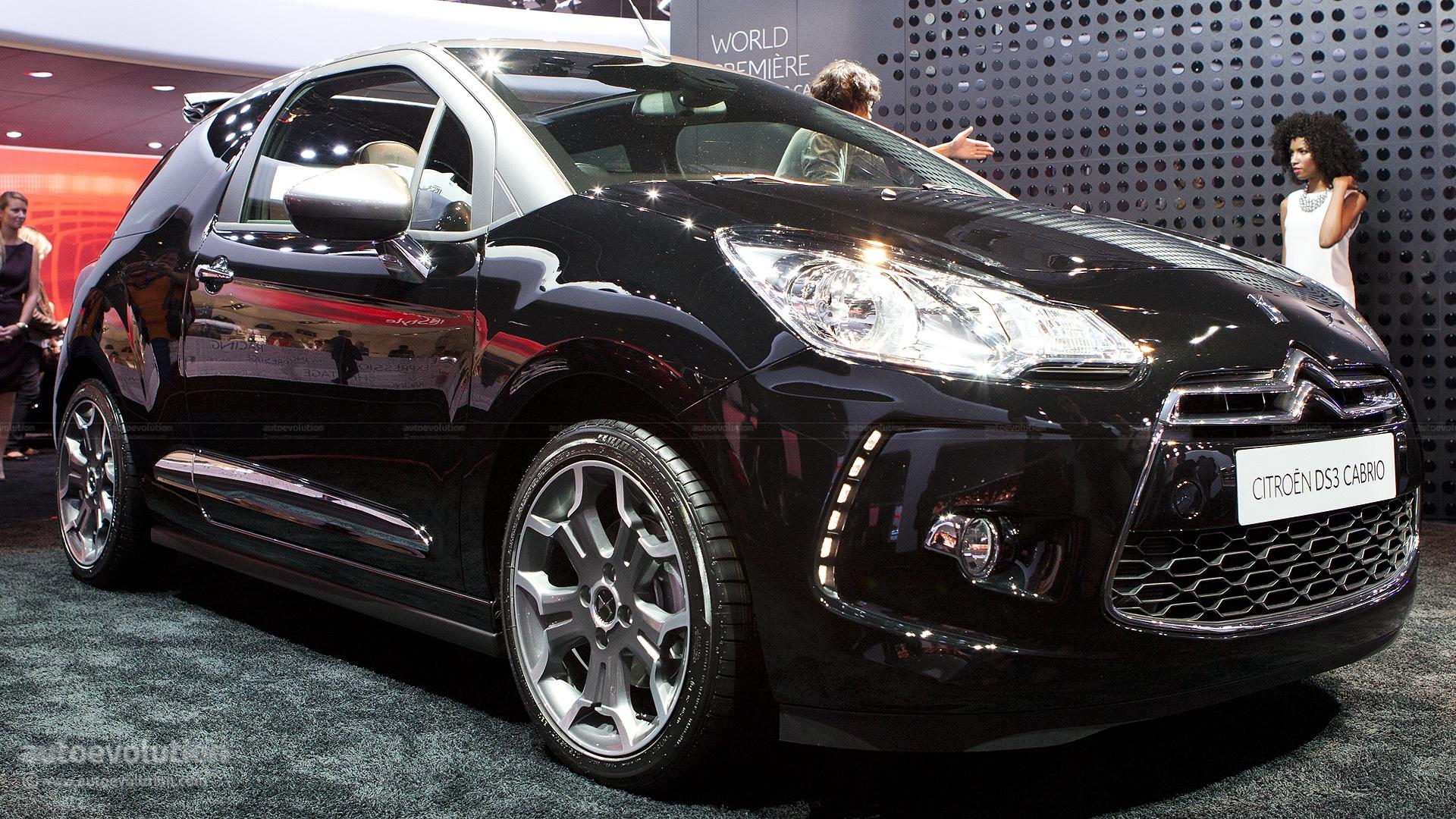 Paris 2012: Citroen DS3 Cabrio