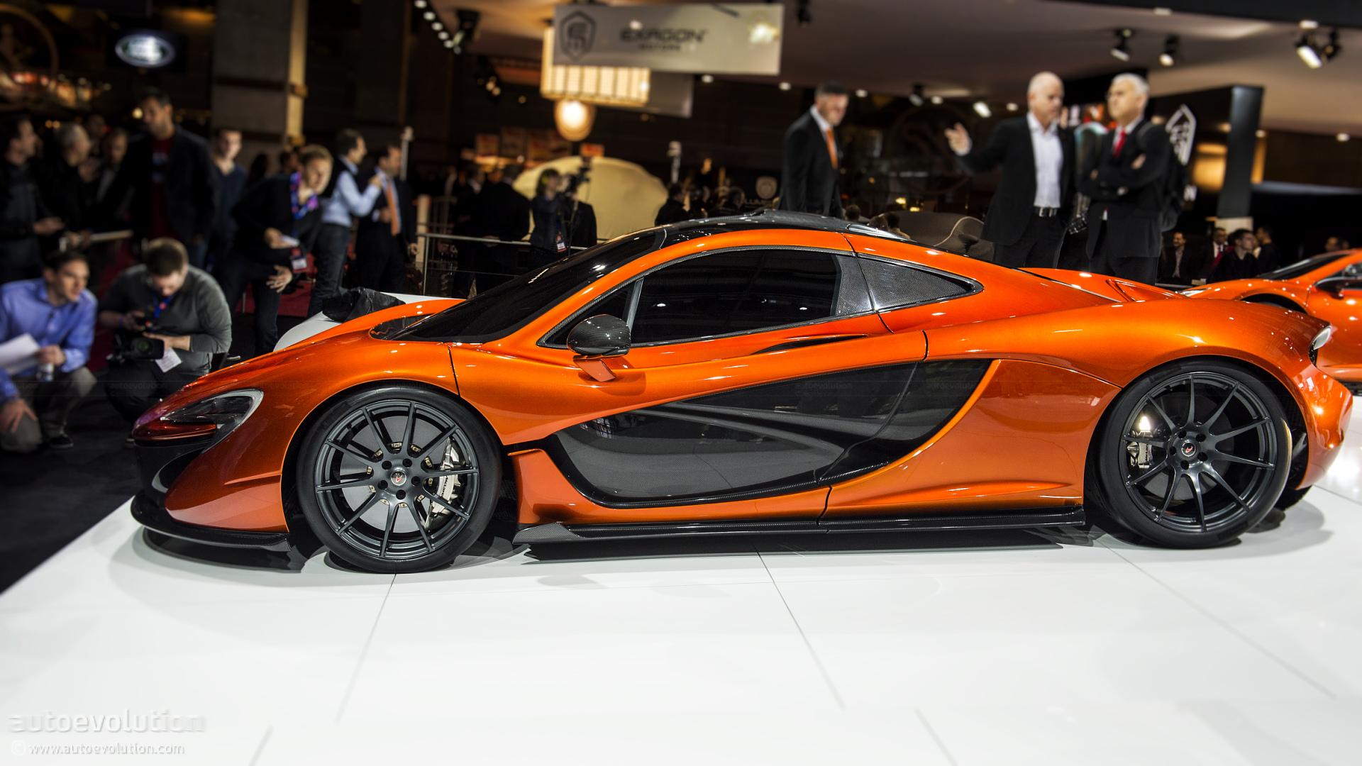 Paris 2012: McLaren P1 Hypercar Concept [Live Photos