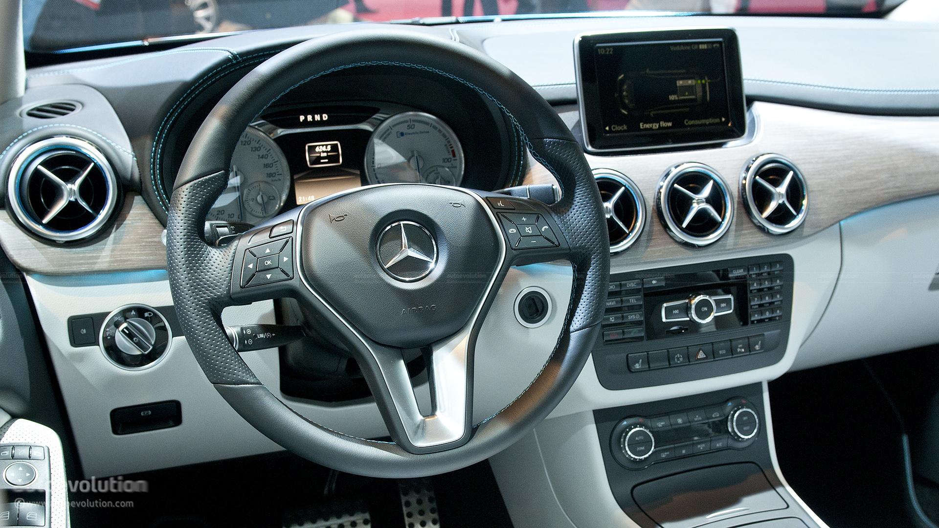 ... Mercedes Benz B Class Electric Drive ...