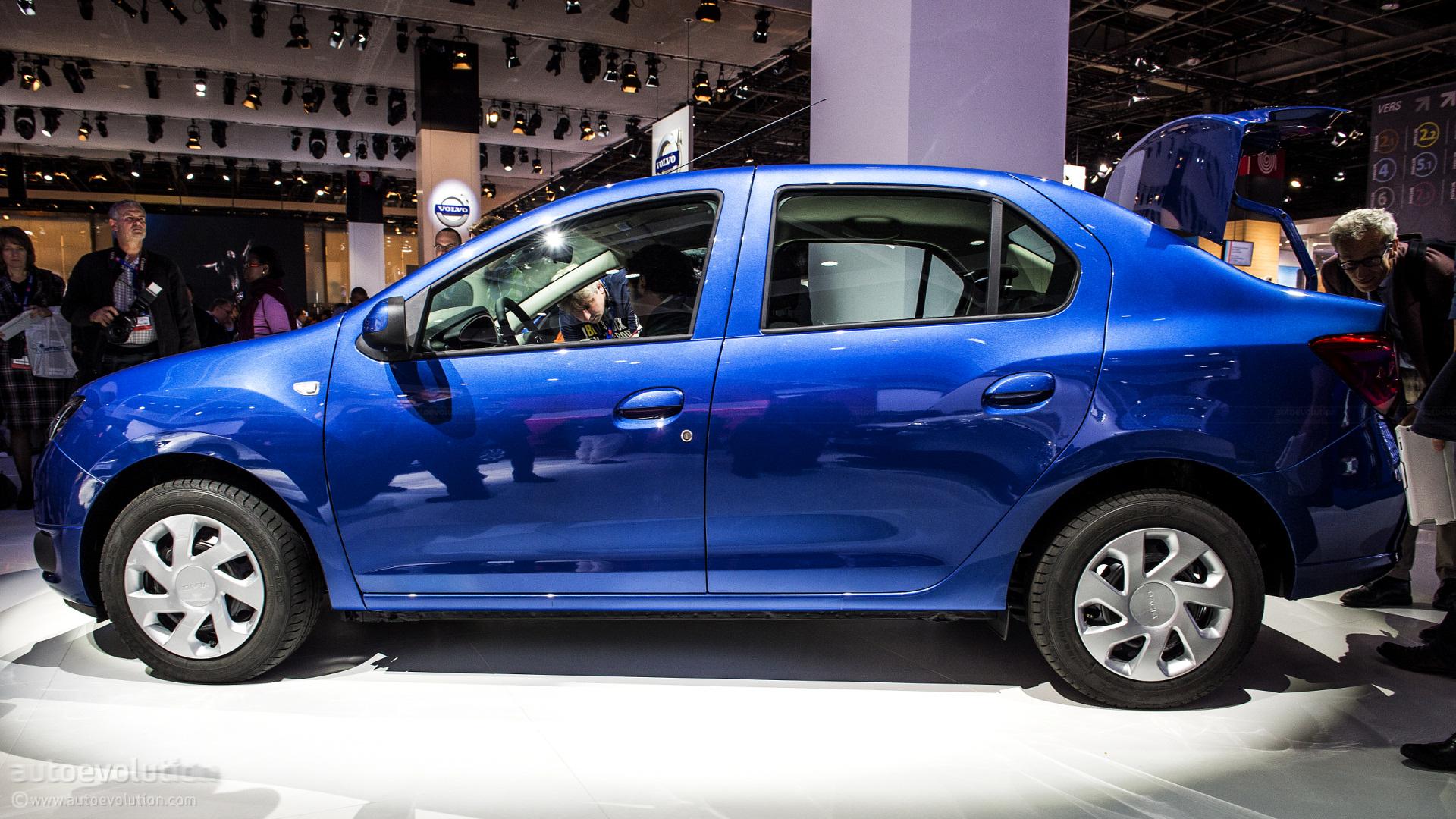 Mahindra Side By Side >> Paris 2012: New Dacia Logan 2 [Live Photos] - autoevolution