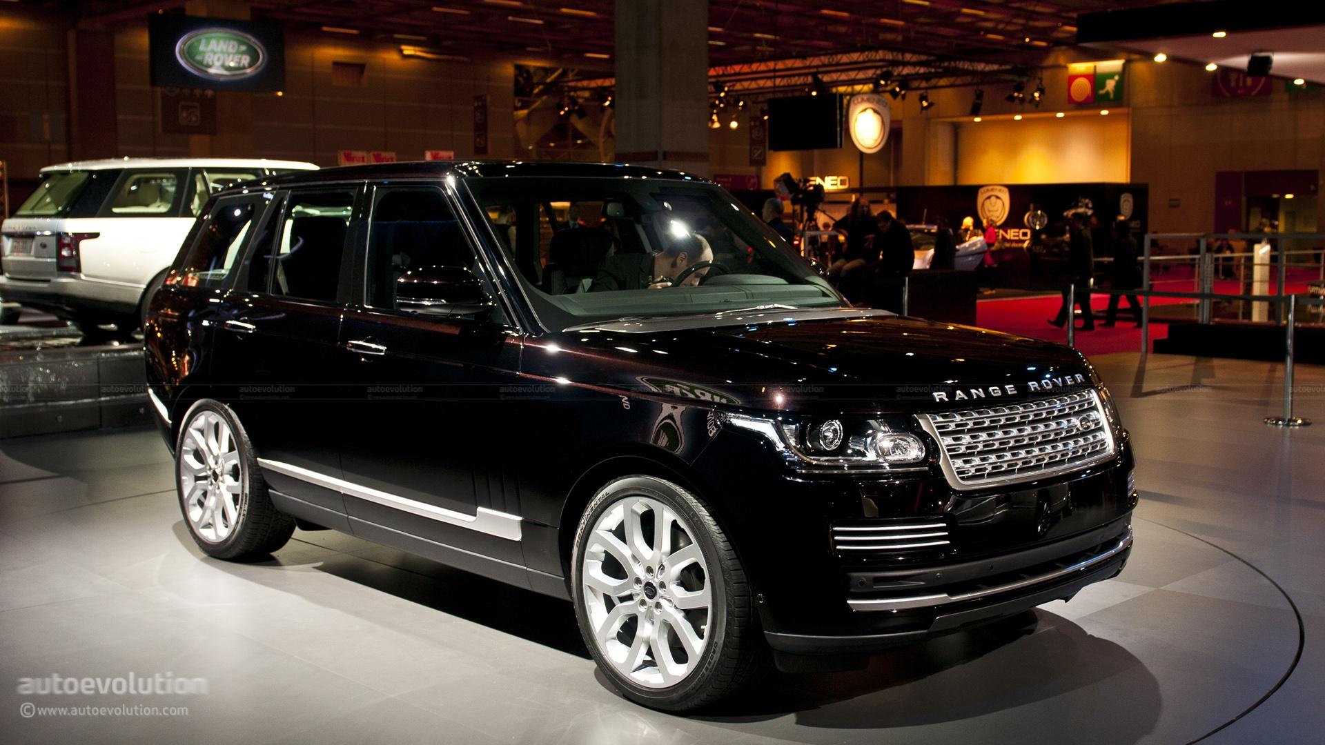paris 2012 new range rover in detail live photos autoevolution. Black Bedroom Furniture Sets. Home Design Ideas