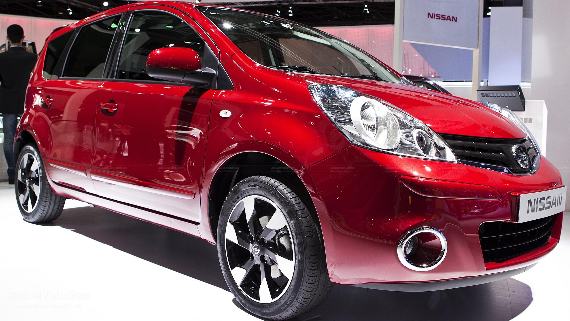 Custom Nissan Maxima >> Paris 2012: Nissan Note Facelift [Live Photos] - autoevolution