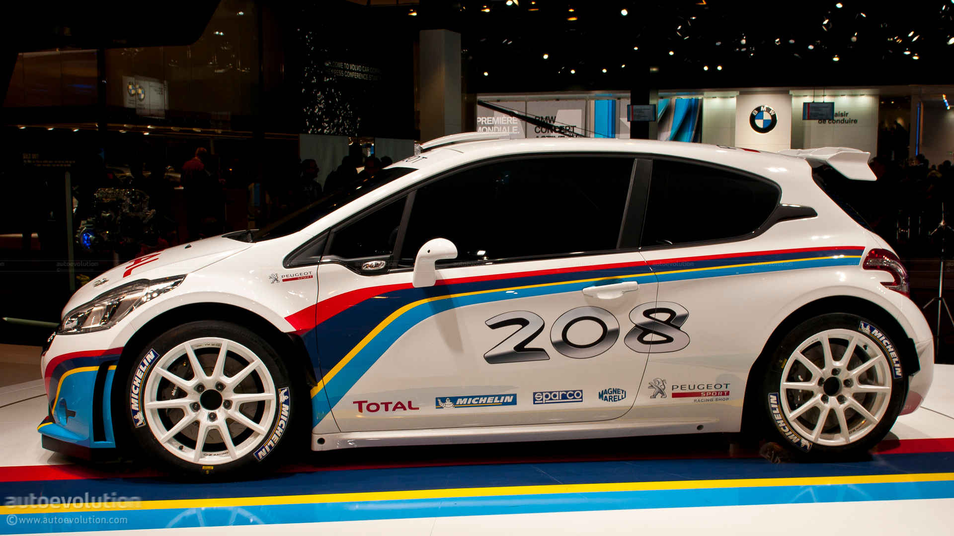 Paris 2012: Peugeot 208 Type R5 Rally Car [Live Photos