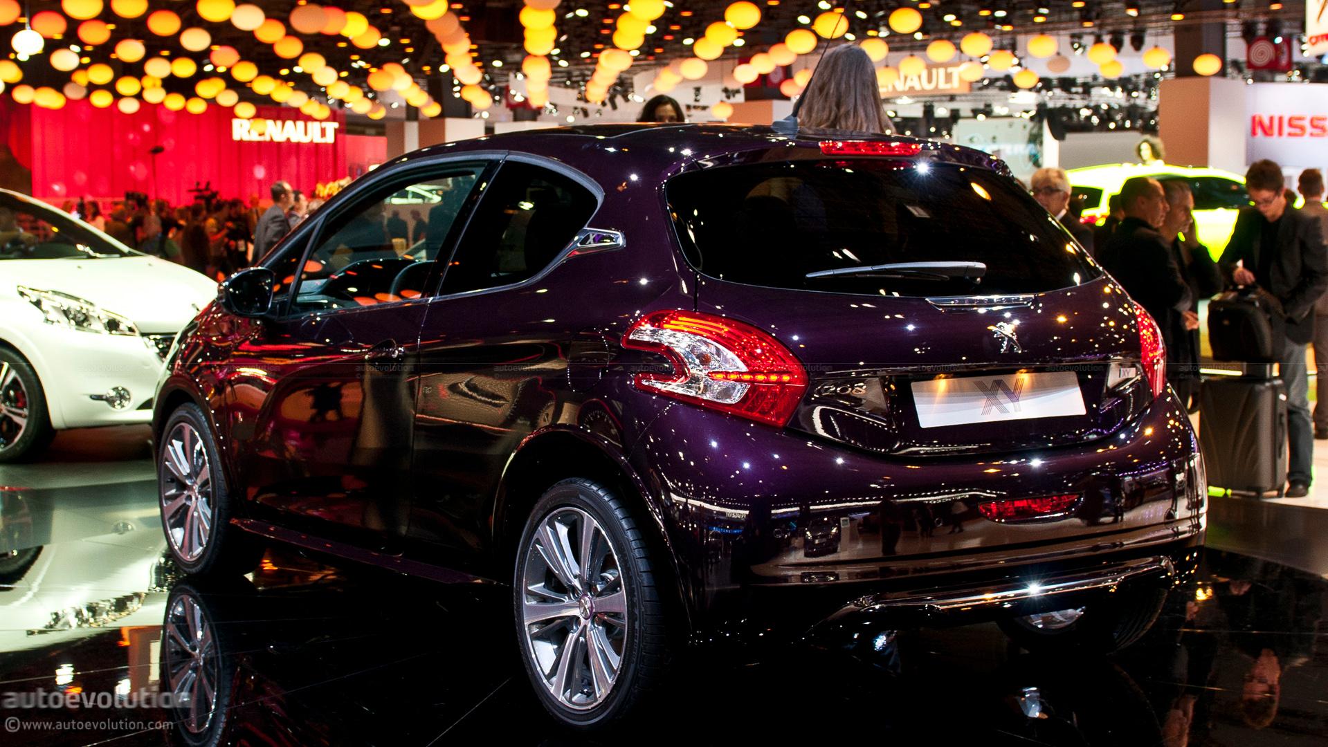 All Star Hyundai >> Paris 2012: Peugeot 208 XY [Live Photos] - autoevolution