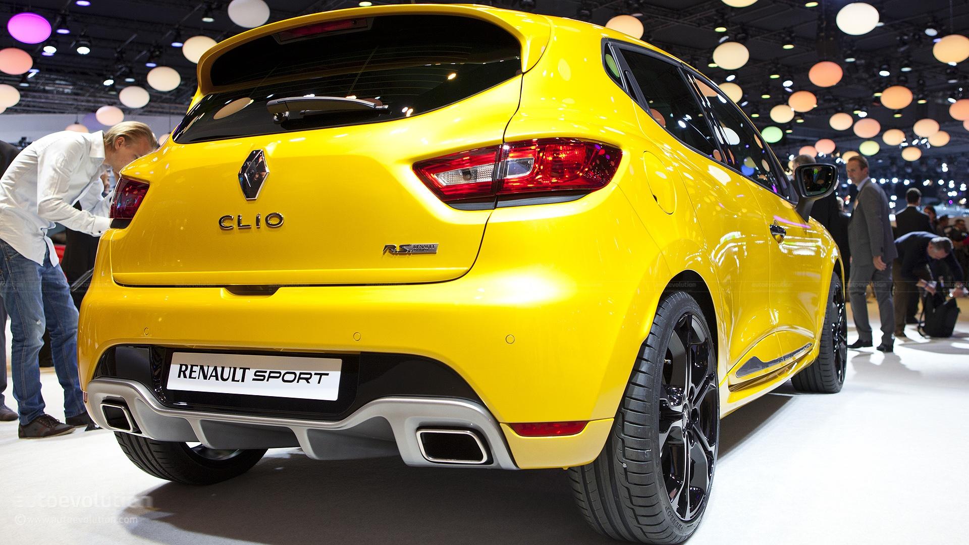 Bardzo dobra Paris 2012: Renault Clio IV RS 200 Turbo with EDC [Live Photos LO55