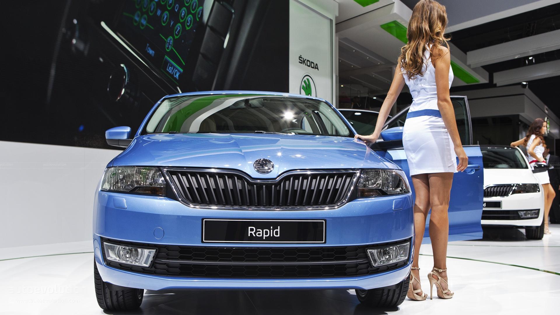 Paris 2012: Skoda Rapid [Live Photos] - autoevolution