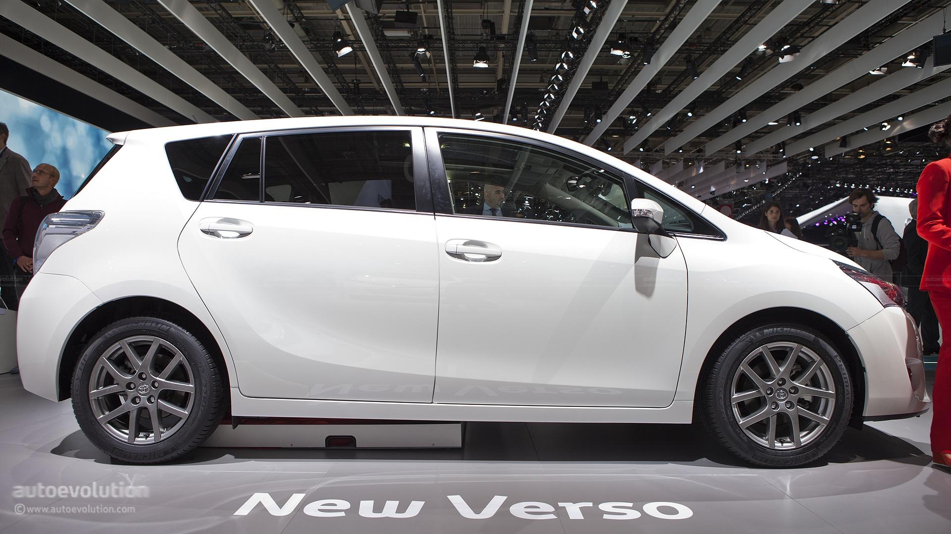 Paris 2012 Toyota Verso Live Photos Autoevolution