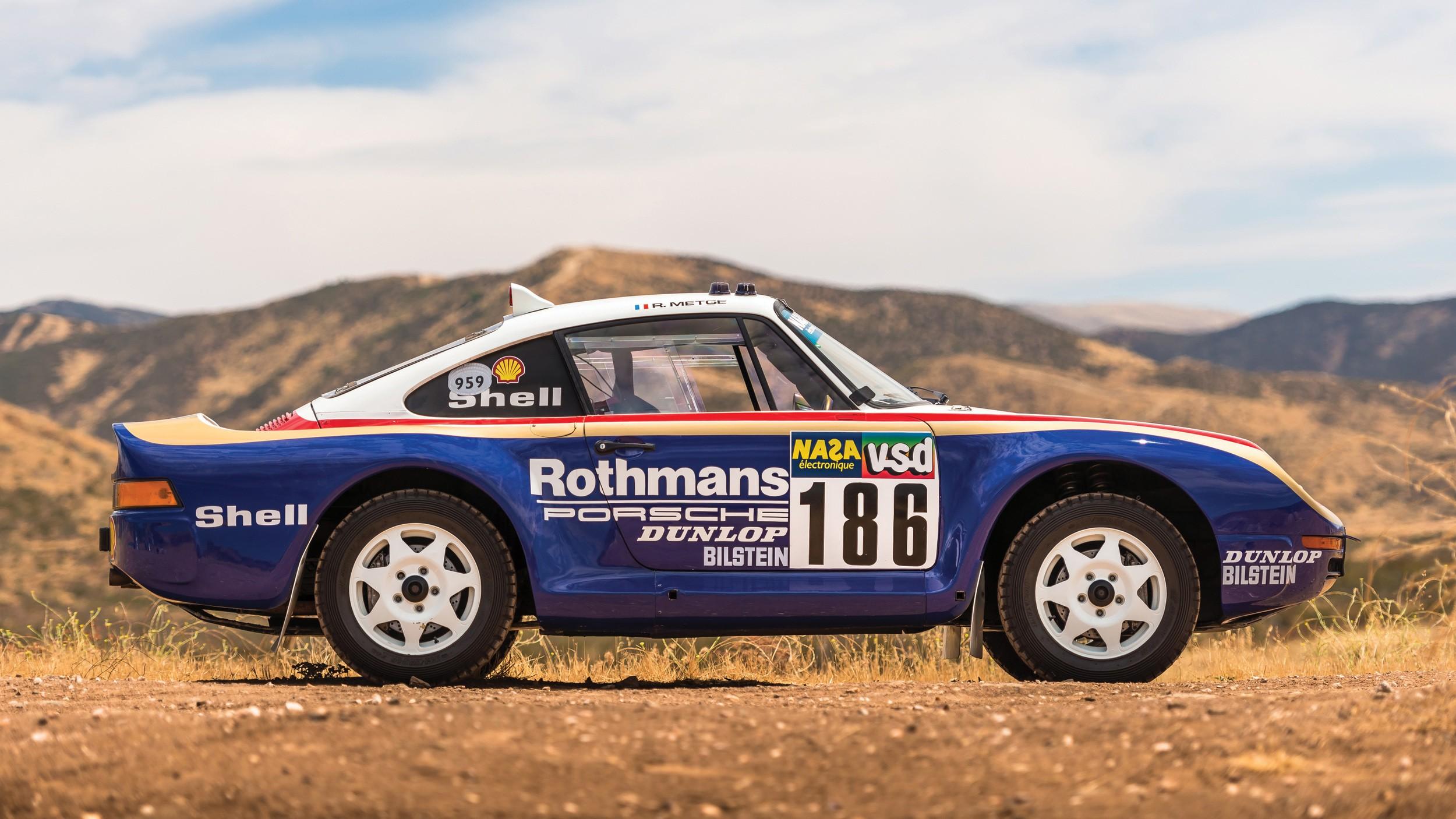 Two Legendary Porsche 959 Models Head To Auction