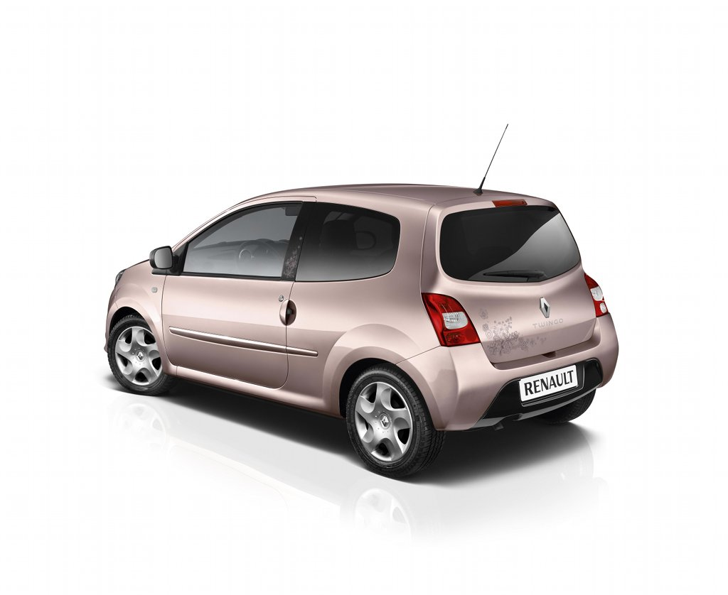 paris preview renault twingo miss sixty autoevolution. Black Bedroom Furniture Sets. Home Design Ideas