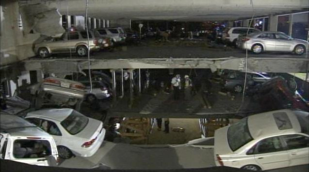 Parking Deck Collapse In Atlanta Autoevolution