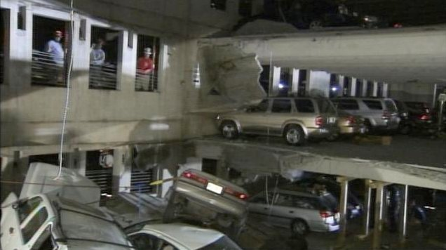Parking Deck Collapse In Atlanta Autoevolution