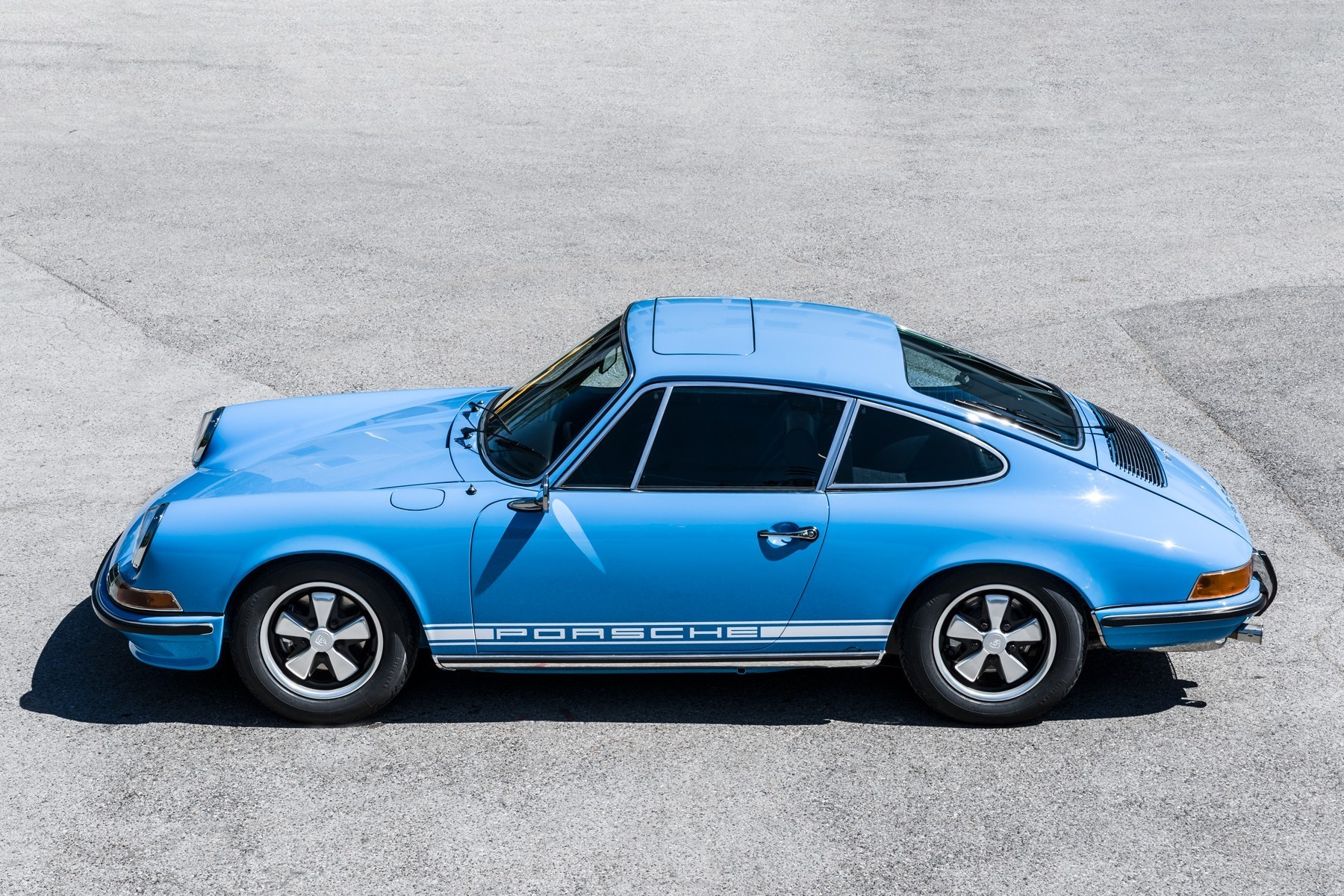 Pastel Blue 1970 Porsche 911s Has Been Immaculately Restored Autoevolution