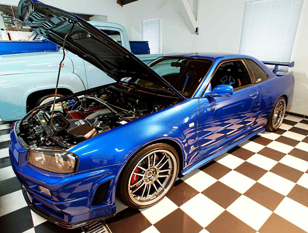 paul walker 39 s fast and furious r34 nissan gt r up for sale autoevolution. Black Bedroom Furniture Sets. Home Design Ideas