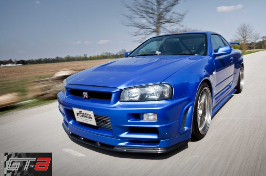 Paul Walkers Nissan Skyline Gt R 34 Up For Sale Video Autoevolution