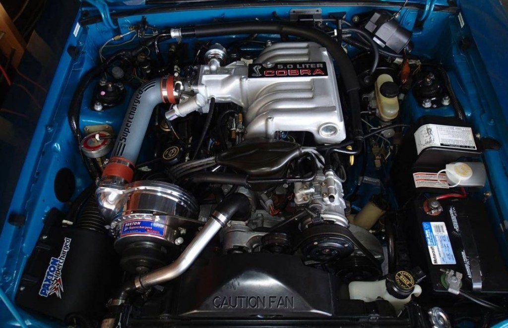 Paxton Supercharged 1993 Ford Mustang Cobra On Sale For