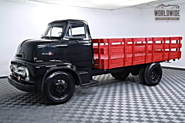 Perfectly Restored Ford F600 Coe Awaits For An Owner