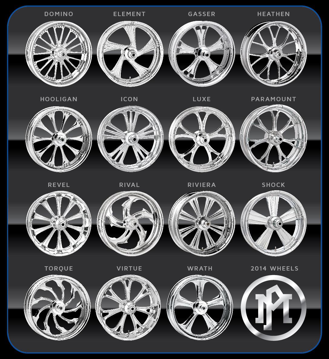 performance machine wheels harley davidson