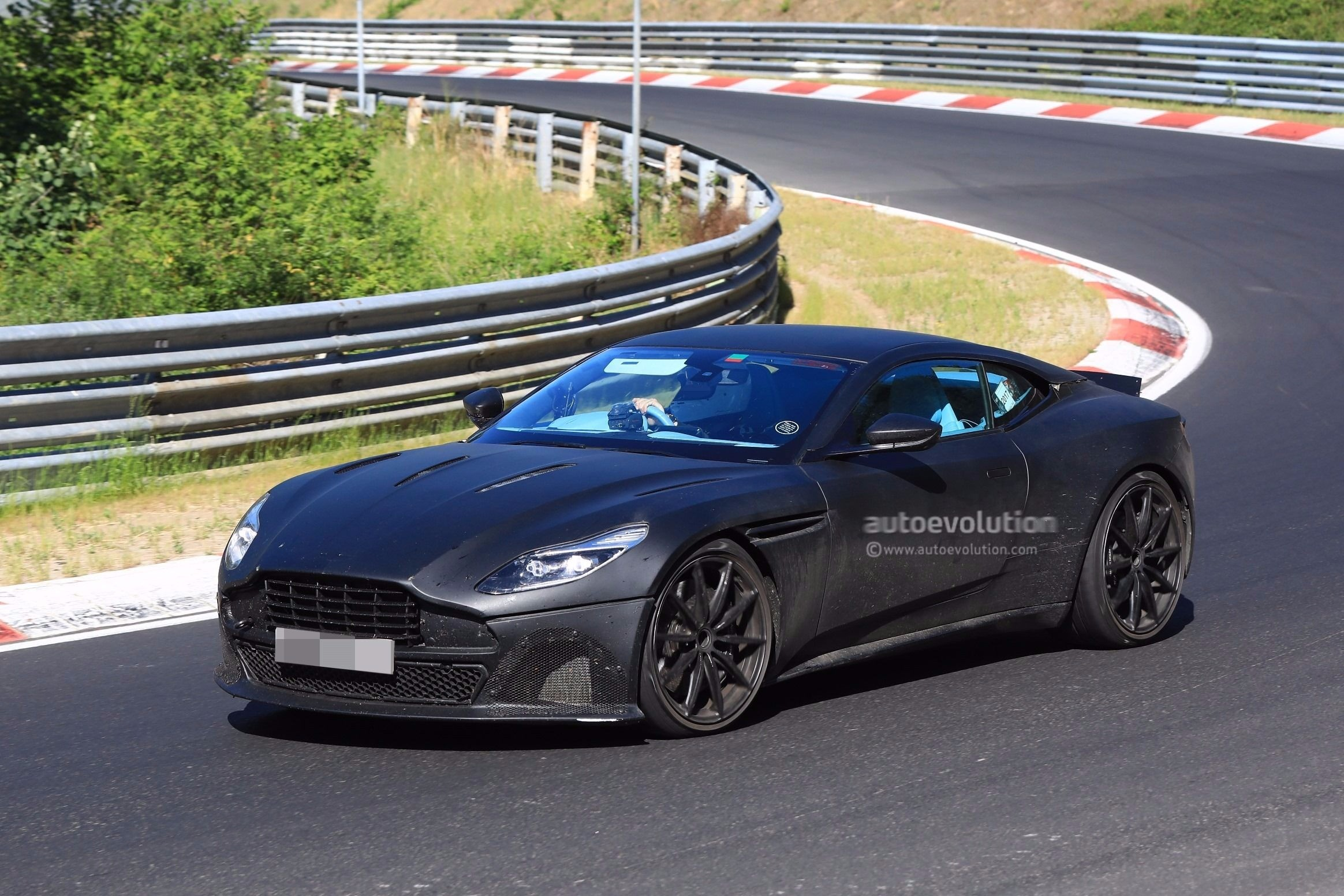 Performance Oriented 2018 Aston Martin Db11 S Spied At The