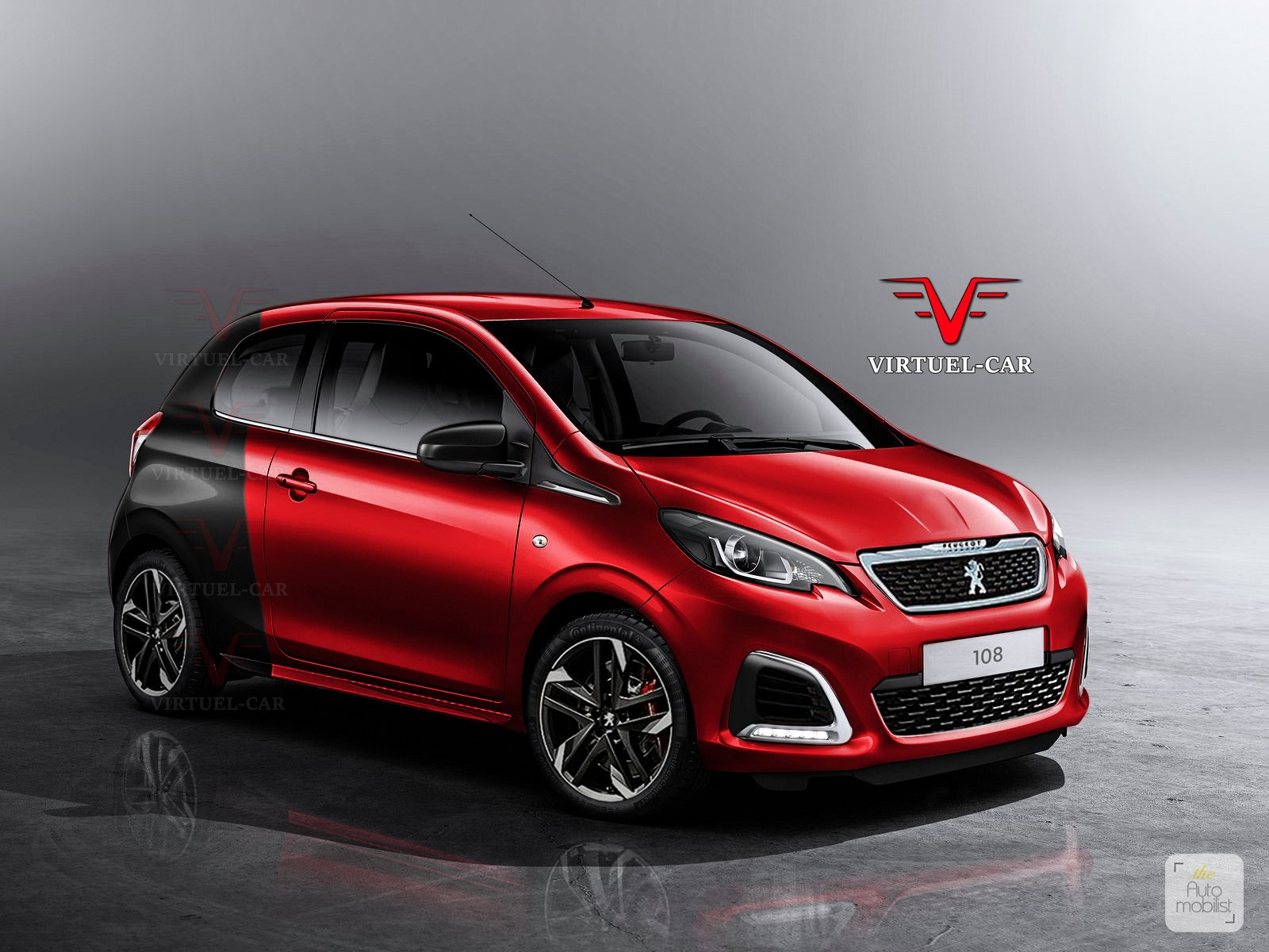 peugeot 108 gti and renault twingo rs return with perfect renderings autoevolution. Black Bedroom Furniture Sets. Home Design Ideas