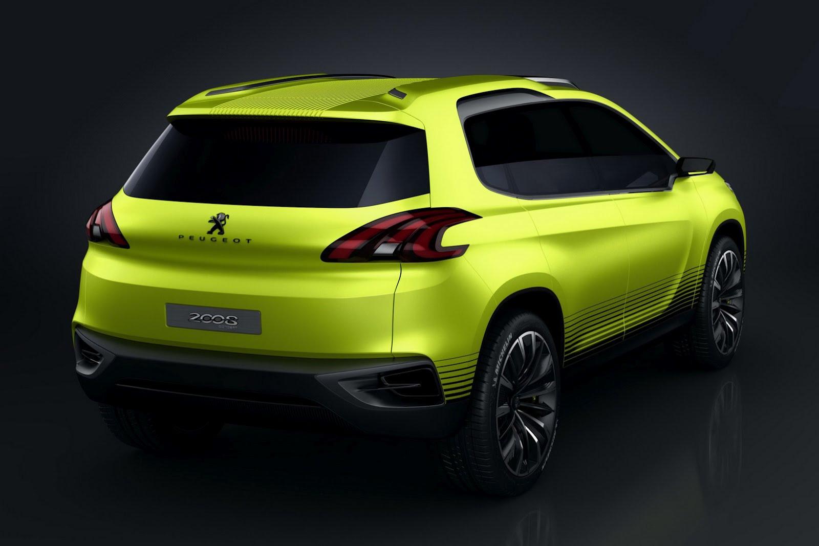 Peugeot 2008 Concept Leaked ahead of Paris - autoevolution