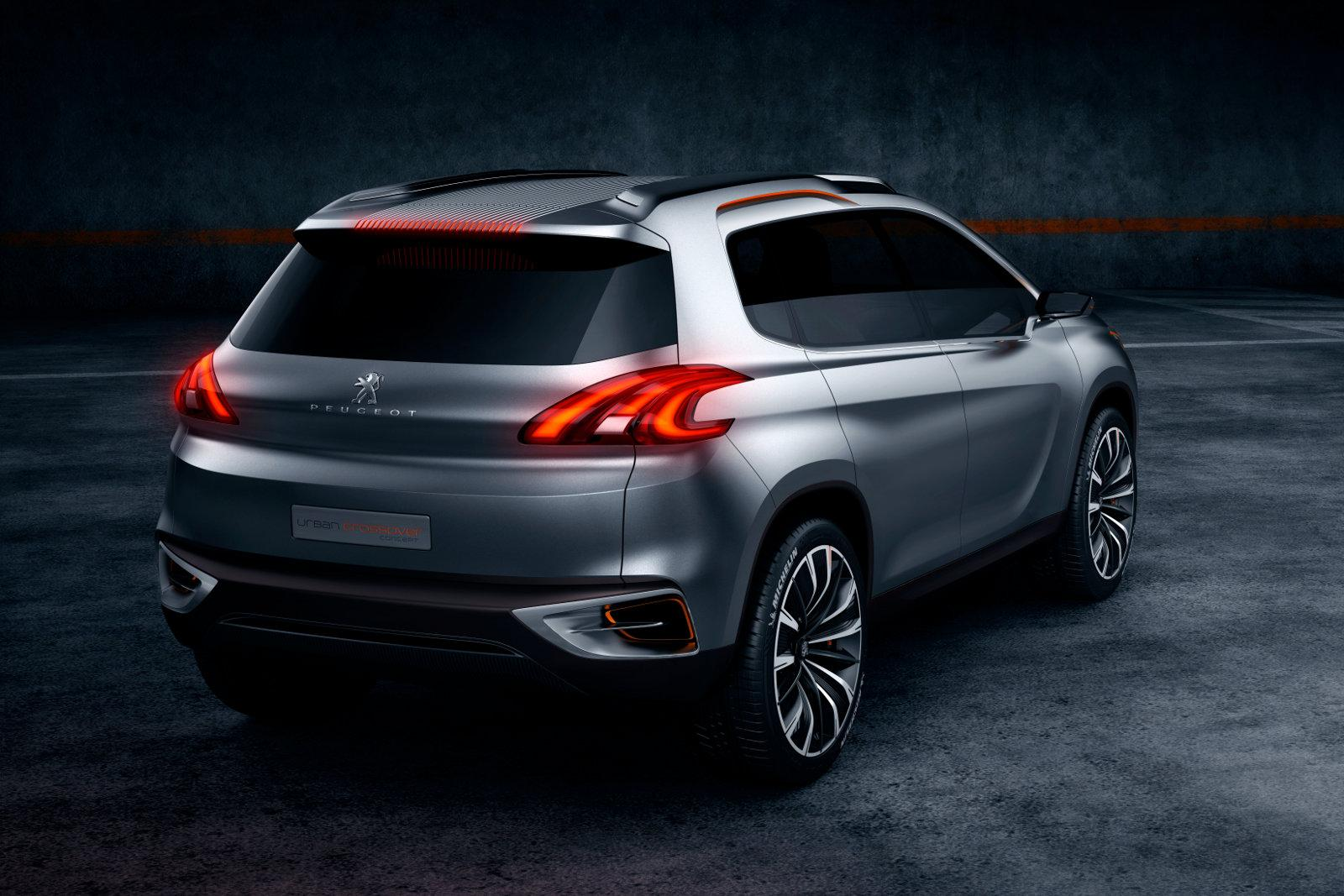 peugeot 2008 previewed as urban crossover concept