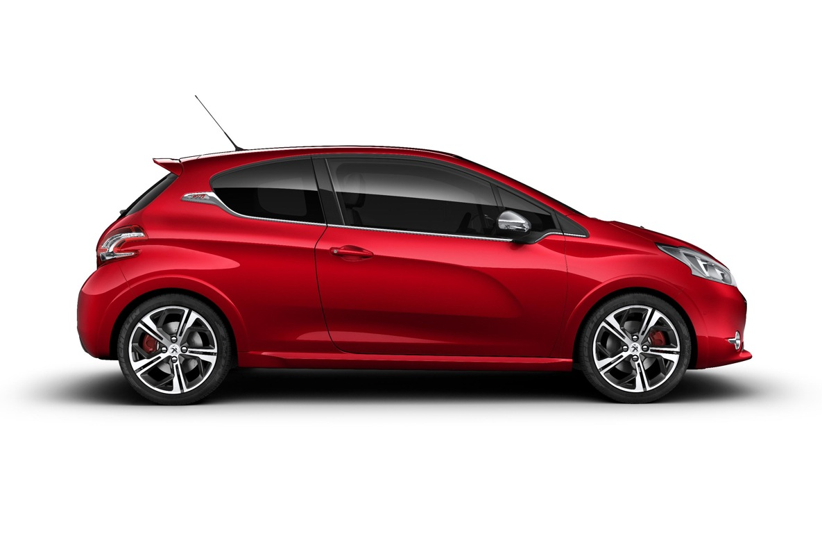 peugeot 208 gti confirmed coming in spring 2013 with 1 6 turbo autoevolution. Black Bedroom Furniture Sets. Home Design Ideas