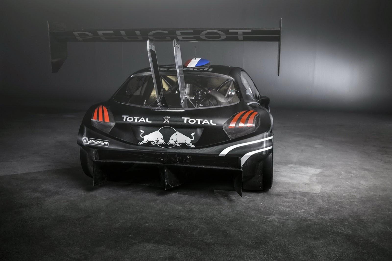 peugeot 208 t16 pikes peak race car revealed autoevolution. Black Bedroom Furniture Sets. Home Design Ideas
