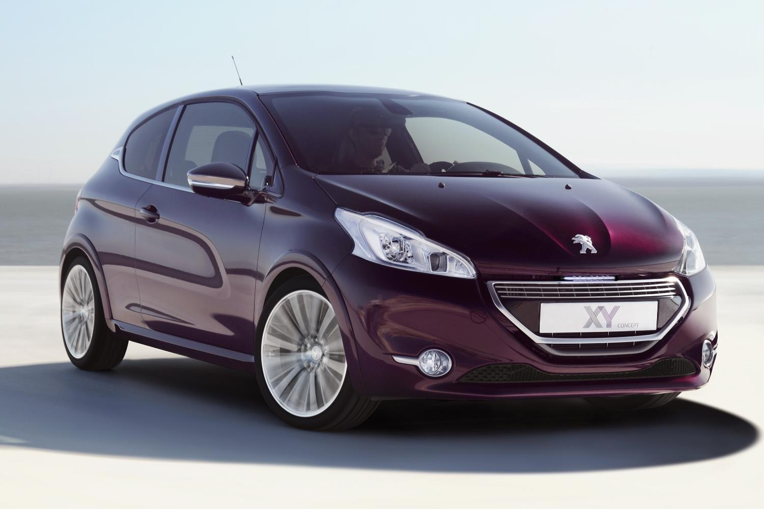 peugeot 208 xy concept to debut in geneva autoevolution. Black Bedroom Furniture Sets. Home Design Ideas