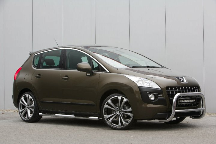 Peugeot 3008 And 4008 By Musketier Tuning Autoevolution