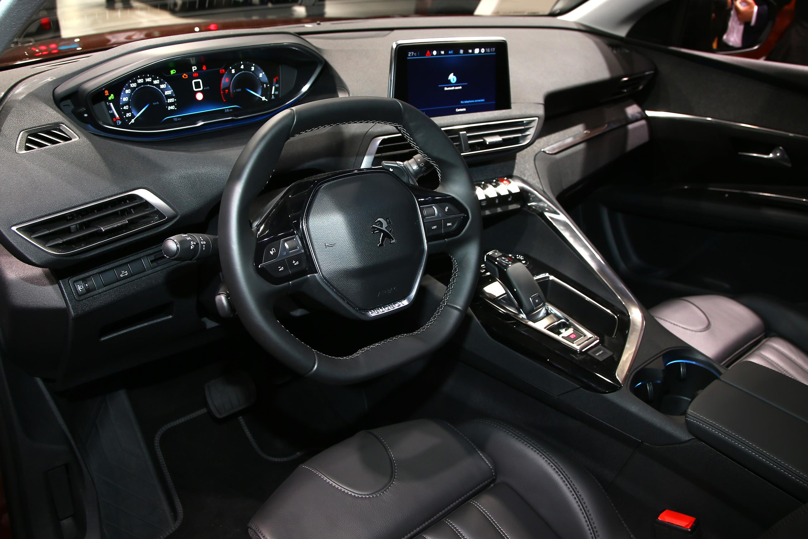 peugeot 3008 gt combines concept interior with hot hatch engine
