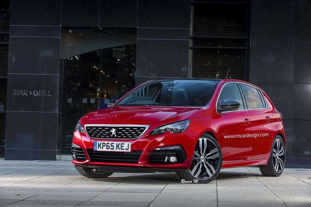 2017 Opel Astra Facelift Peugeot 308