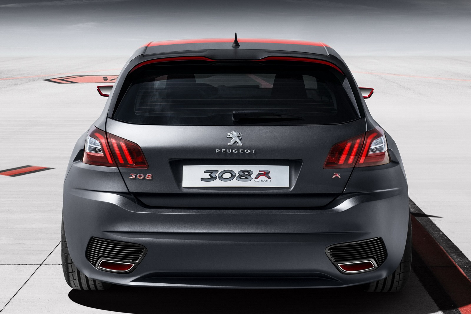 Peugeot 308 R Concept Revealed: 1.6 Turbo With 270 HP