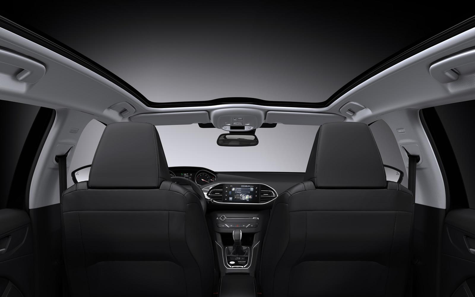 peugeot 308 sw revealed with 610 liters of cargo space autoevolution. Black Bedroom Furniture Sets. Home Design Ideas