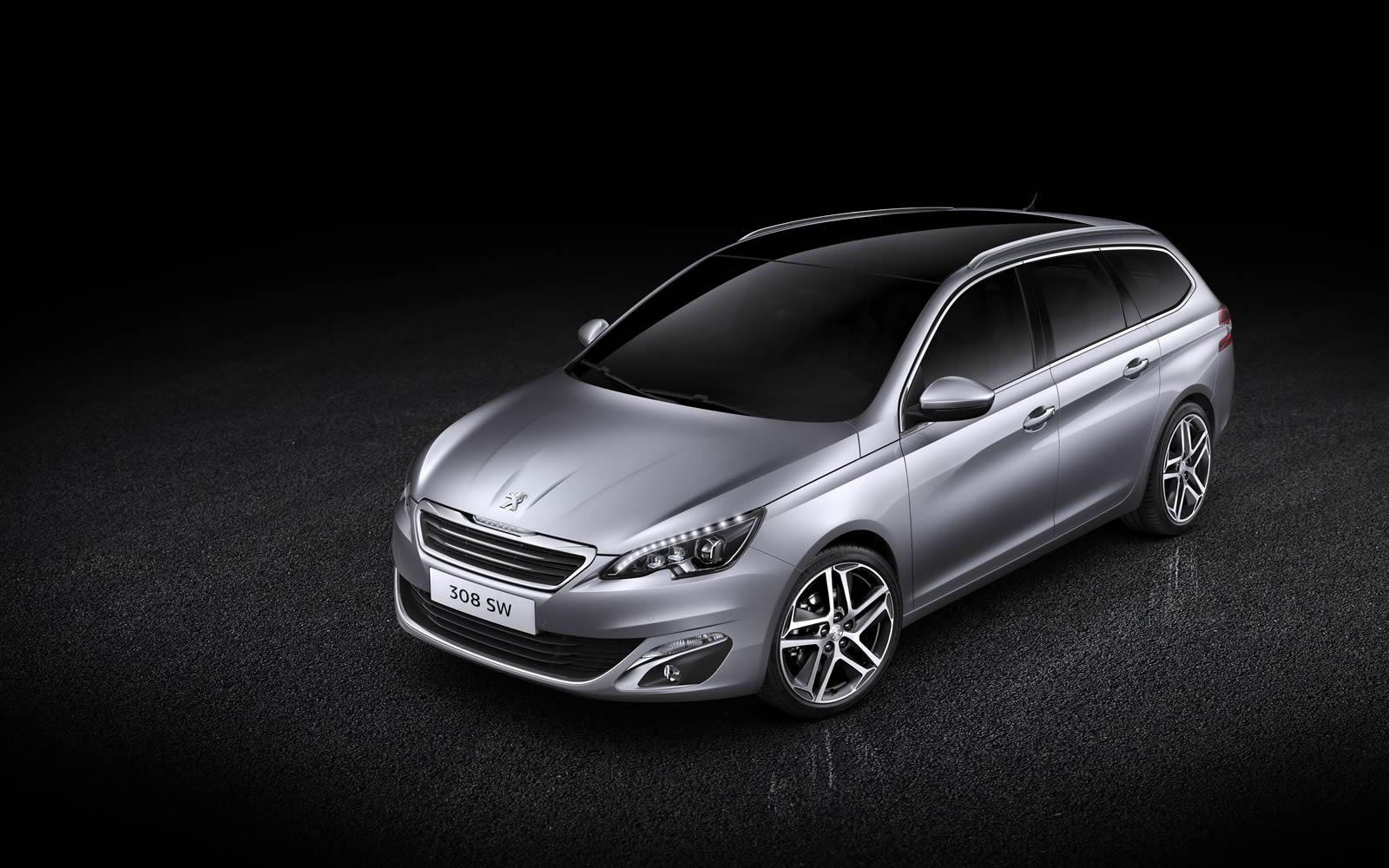 Peugeot 308 Sw Revealed With 610 Liters Of Cargo Space