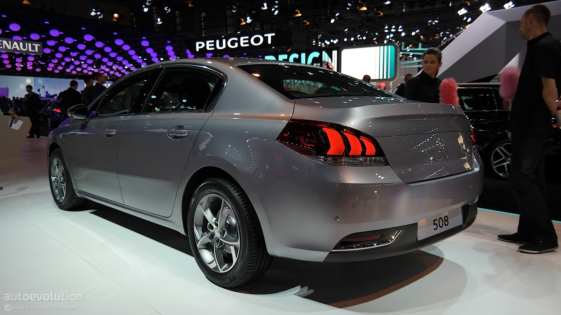 Peugeot 508 Sedan Sw And Rxh Updated For The Paris Motor
