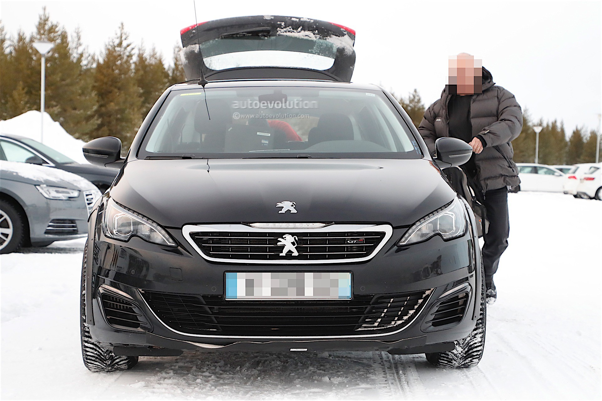 2018 peugeot 308 sw. modren 308 peugeot 508 mule with modified 308 sw body in 2018 peugeot sw