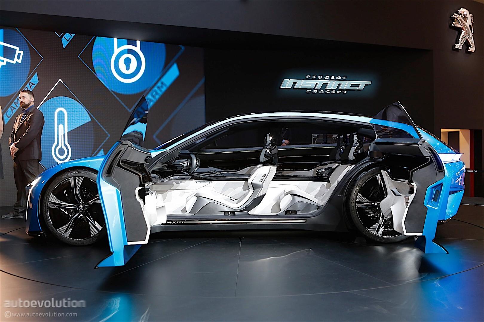 Peugeot Instinct Concept 2017 Geneva Motor Show