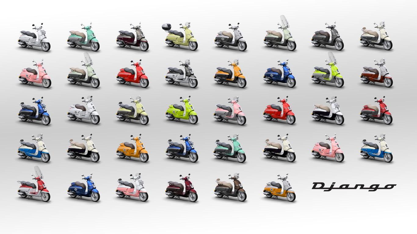 Peugeot Django Goes 50cc Still Retro Sweet Autoevolution