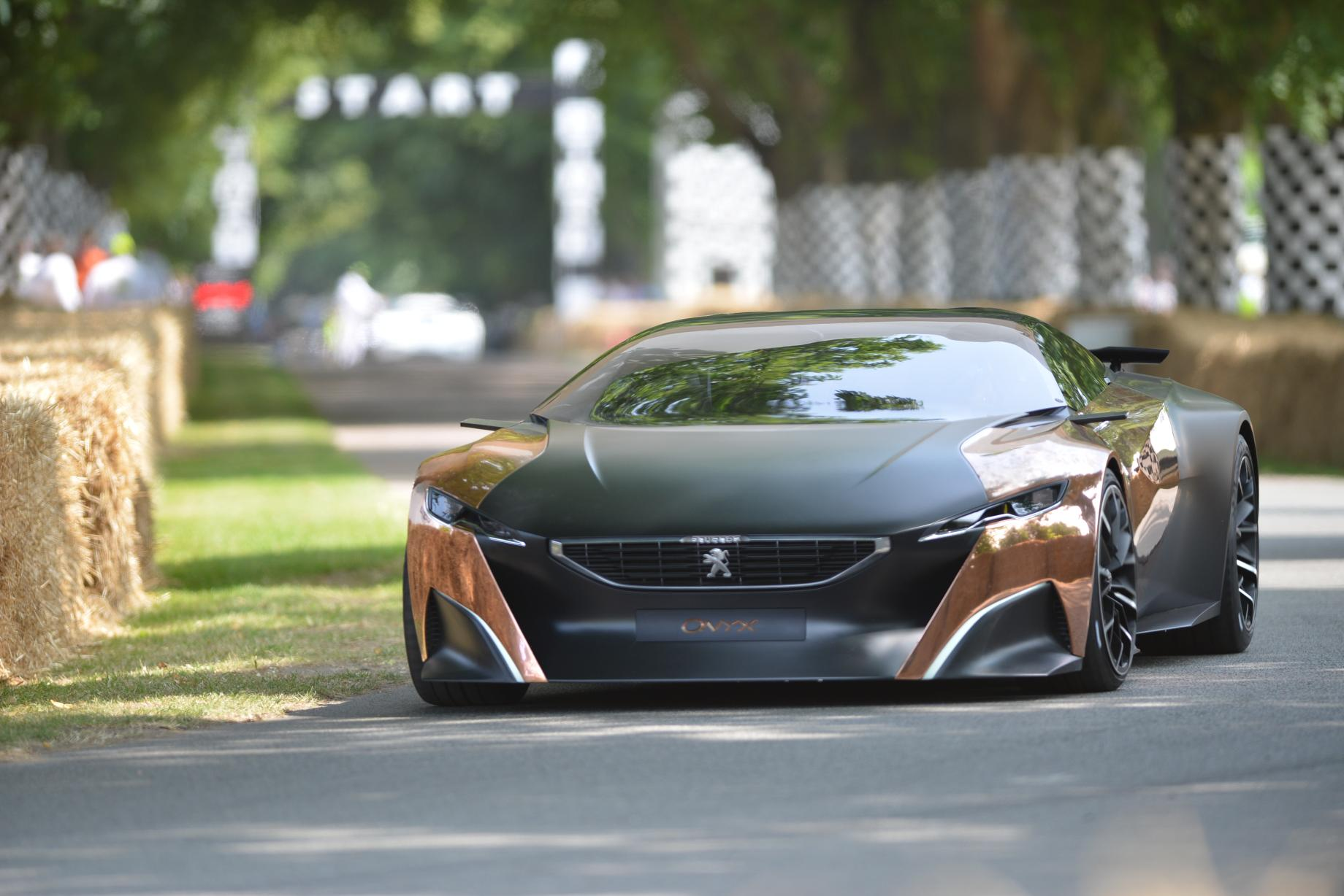 peugeot onyx concept at goodwood 2013 video live photos autoevolution. Black Bedroom Furniture Sets. Home Design Ideas