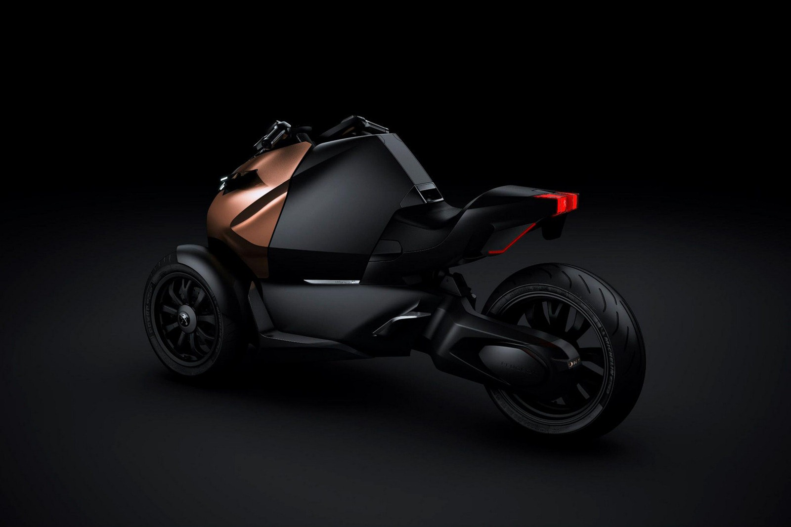 Peugeot Onyx Supercar Gets Its Own Scooter Concept